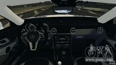 Mercedes-Benz SLK 2012 v1.0 [RIV] for GTA 4 back view