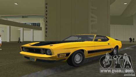 Ford Mustang 1973 for GTA Vice City