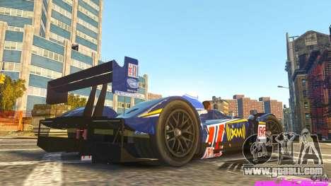 Acura Fernandez ARX for GTA 4 left view