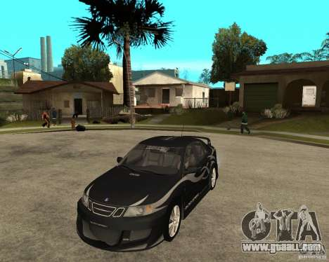 Saab 9-3 from GM Rally Version 1 for GTA San Andreas