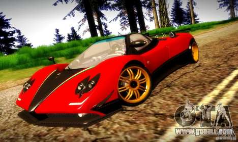 Pagani Zonda Tricolore V2 for GTA San Andreas