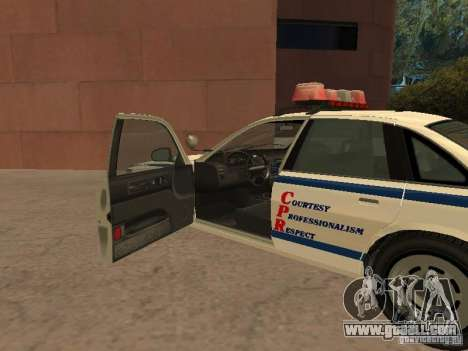 The police of GTA4 for GTA San Andreas