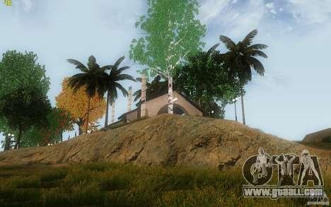 New Country Villa for GTA San Andreas sixth screenshot