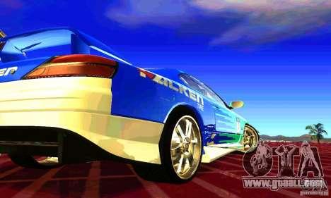 Nissan Silvia S15 8998 Edition Tunable for GTA San Andreas side view