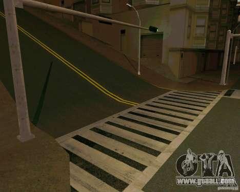 GTA 4 Roads for GTA San Andreas forth screenshot