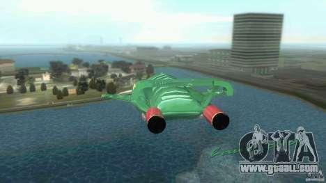 ThunderBird 2 for GTA Vice City right view