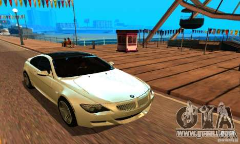 BMW M6 for GTA San Andreas