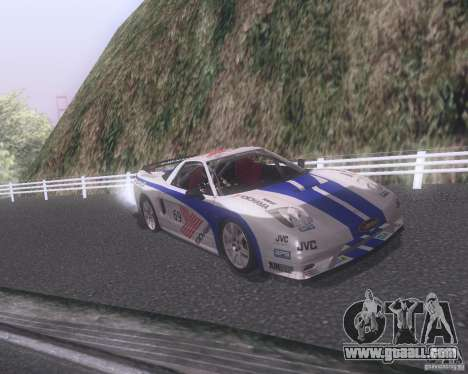 Honda NSX Japan Drift for GTA San Andreas engine