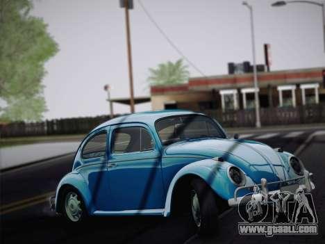 Volkswagen Beetle 1967 V.1 for GTA San Andreas left view