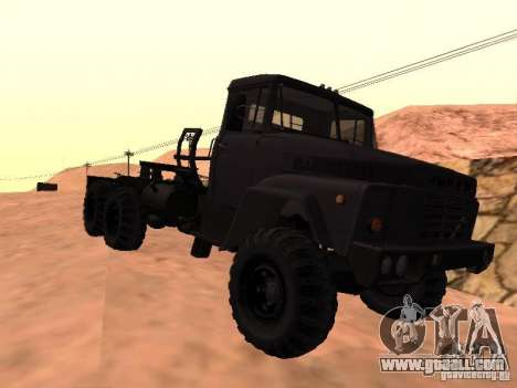 KrAZ 260V for GTA San Andreas back left view