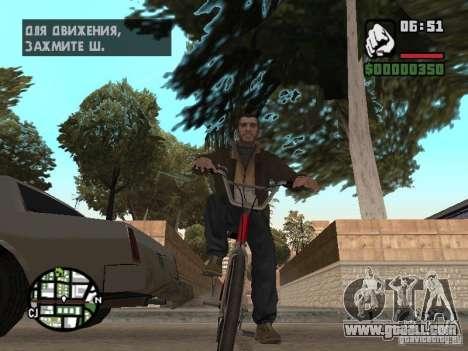 Niko Bellic for GTA San Andreas sixth screenshot