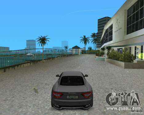 Maserati  GranTurismo for GTA Vice City left view
