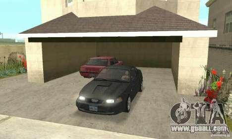 Ford Mustang GT 1999 (3.8 L 190 hp V6) for GTA San Andreas