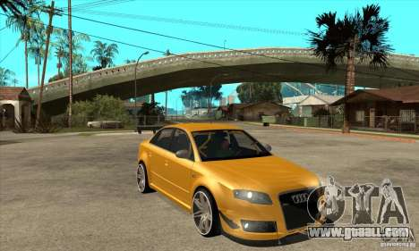 Audi RS4 2006 v2 for GTA San Andreas back view
