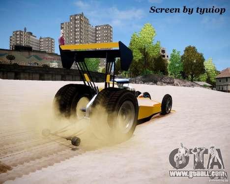 Raketomobil′ for GTA 4 back view