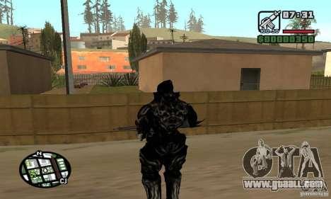 Alex Mercer v2 for GTA San Andreas fifth screenshot