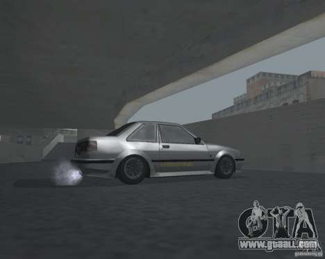 Futo from GTA 4 for GTA San Andreas back view