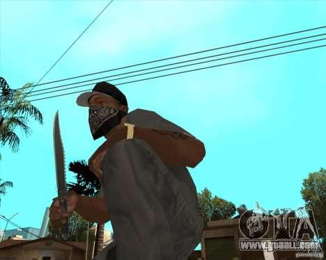 Rambo HD for GTA San Andreas second screenshot
