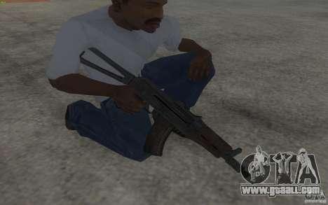 AKS-74U for GTA San Andreas third screenshot