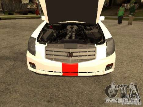 Cadillac CTS 2003 Tunable for GTA San Andreas right view