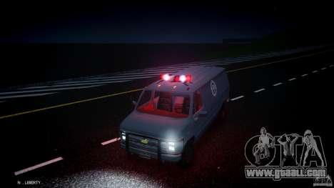 Chevrolet G20 Van V1.1 for GTA 4 upper view