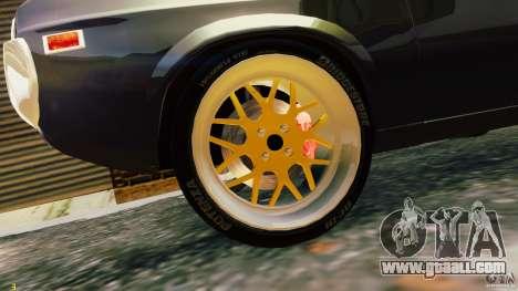 Mazda RX-4 for GTA 4 back view