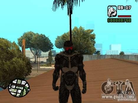 Crysis Nano Suit for GTA San Andreas