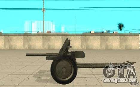 Regiment gun, 53-45 mm for GTA San Andreas left view