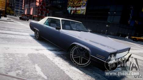 Manana Tuned for GTA 4 left view