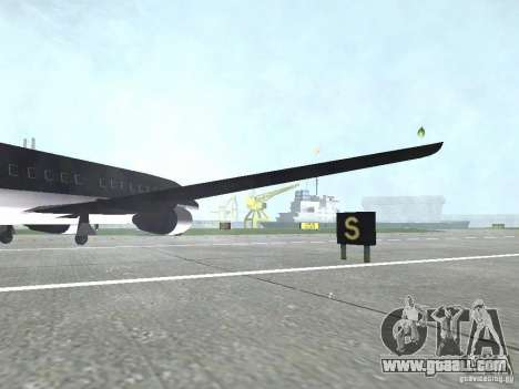 AT-400 in all airports for GTA San Andreas forth screenshot
