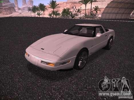 Chevrolet Corvette Grand Sport for GTA San Andreas