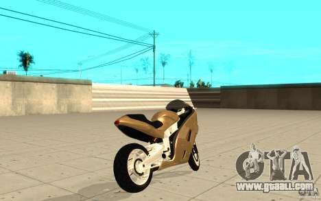 GTAIV TLAD Hakuchou Custom Version for GTA San Andreas back left view