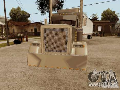 Peterbilt 379 Custom for GTA San Andreas left view