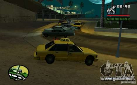 Amstrad in an accident for GTA San Andreas