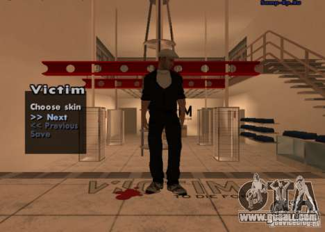 New skin Russian mafia # 1 for GTA San Andreas second screenshot