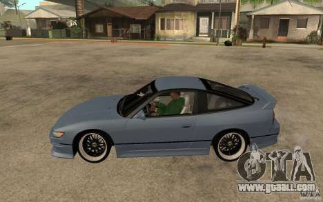Nissan Silvia80 - EMzone Edition for GTA San Andreas left view