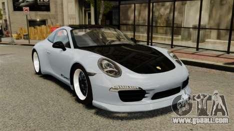 Porsche 911 (991) Carrera S for GTA 4
