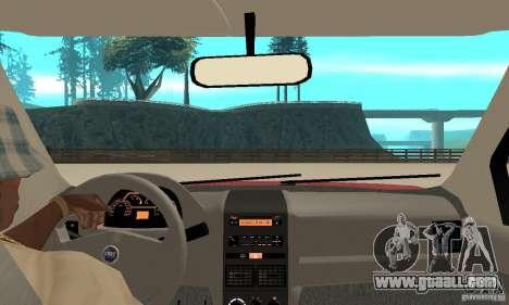 Fiat Siena HLX 1.8 Flex for GTA San Andreas right view