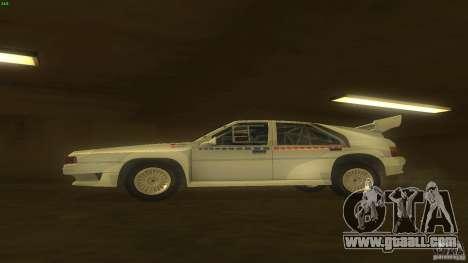 Citroen BX 4TC for GTA San Andreas left view