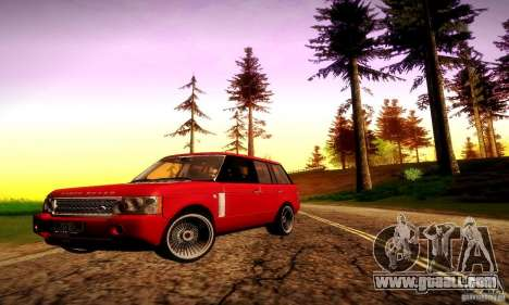 Range Rover Supercharged for GTA San Andreas wheels
