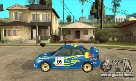 Subaru Impreza STi WRC wht2 for GTA San Andreas right view