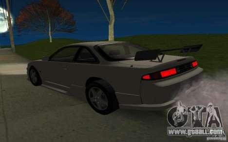 Nissan 200SX for GTA San Andreas interior