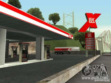 Charging LUKOIL for GTA San Andreas