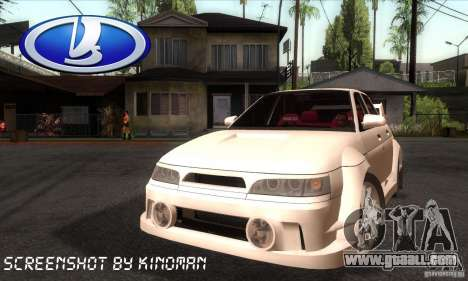 VAZ 2110 WRC for GTA San Andreas