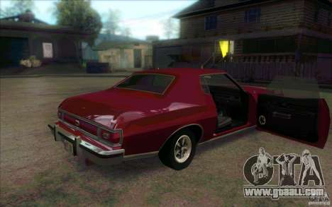 Ford Torino for GTA San Andreas back view