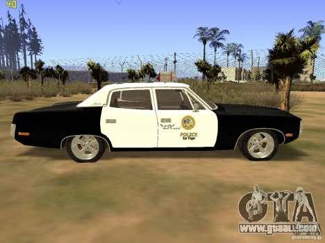 AMC Matador SA Police 1971 Final for GTA San Andreas back left view