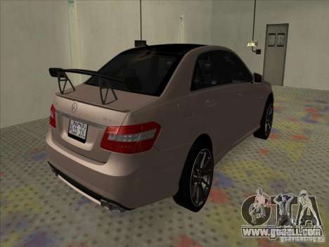 Mercedes-Benz E63 AMG Black Series Tune 2011 for GTA San Andreas back left view