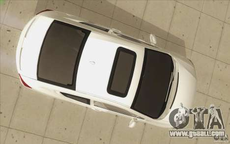 Honda Civic SI 2012 for GTA San Andreas bottom view
