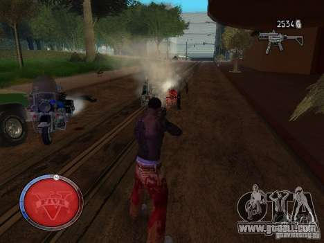 GTA 5 HUD for GTA San Andreas third screenshot