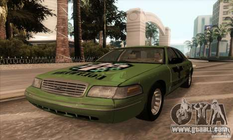 Ford Crown Victoria 2003 for GTA San Andreas back view